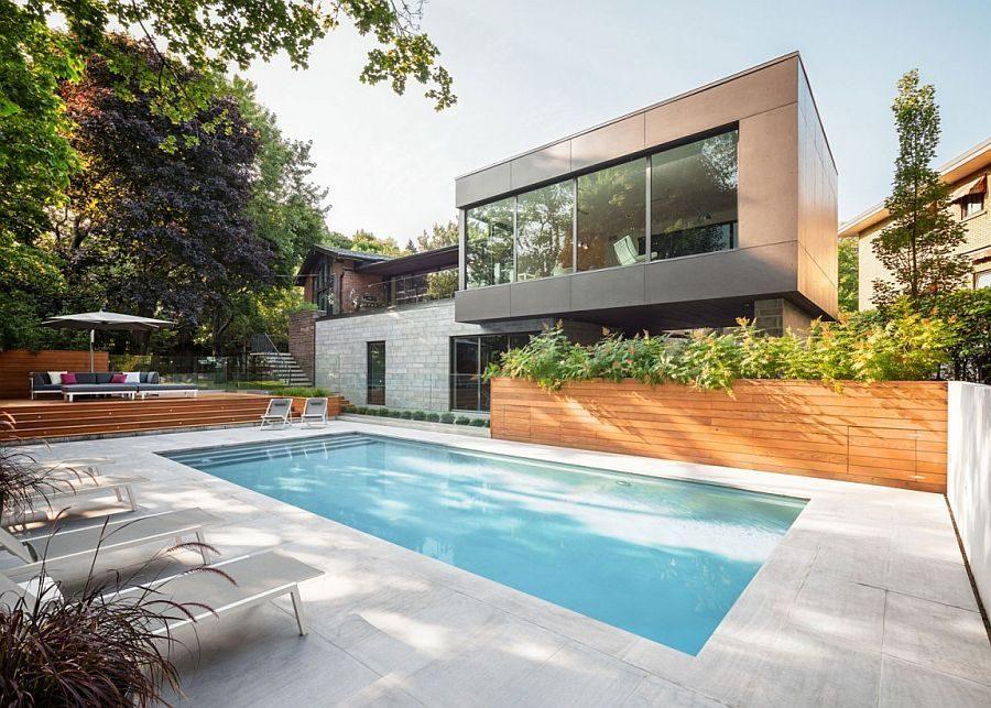 Description: 185 Ngôi nhà một tầng được mở rộng thành biệt thự hồ bơi sang trọng qpdesign