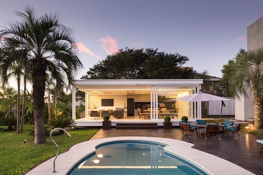 Description: 101 Biệt thự hiện đại với phong cảnh bờ hồ tuyệt đẹp tại Brazil qpdesign