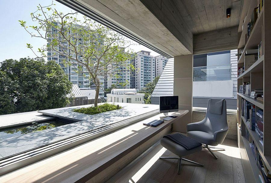 Description: 1043 Chiltern House   Nhà phố hiện đại với nhiều không gian xanh qpdesign