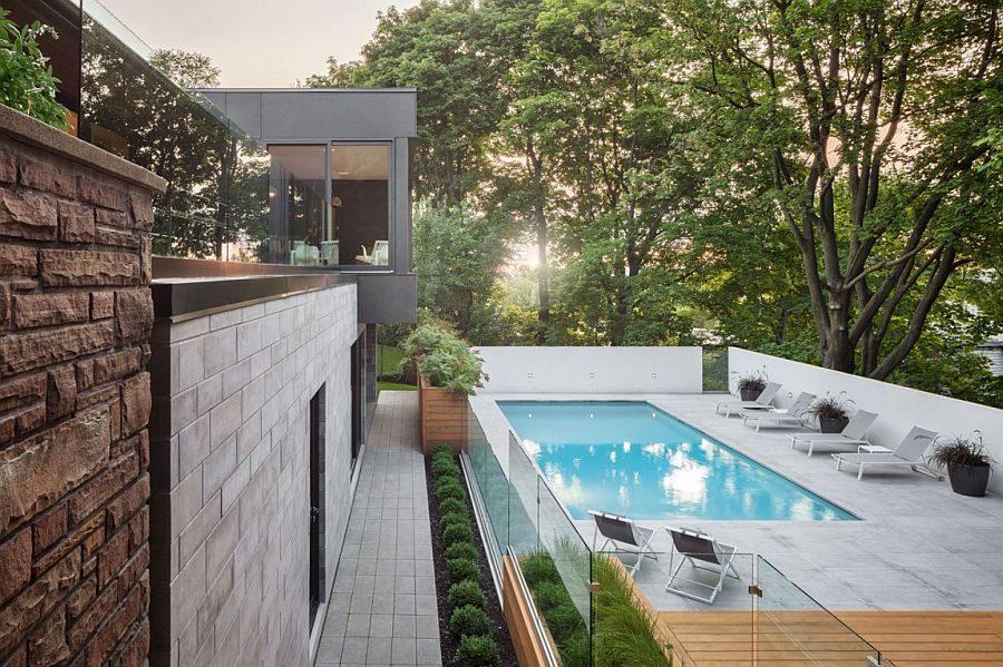 Description: 1024 Ngôi nhà một tầng được mở rộng thành biệt thự hồ bơi sang trọng qpdesign