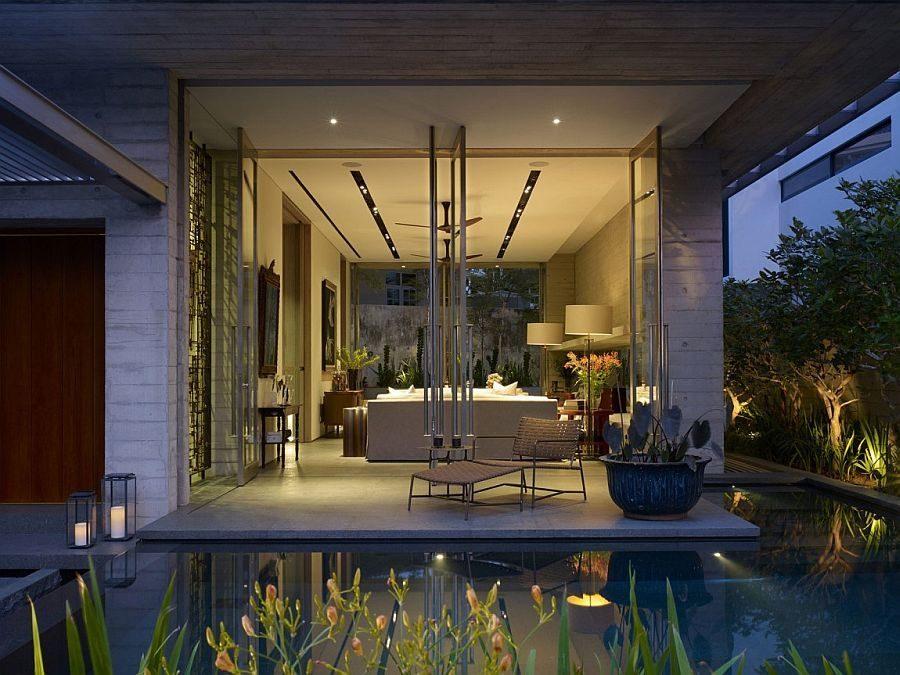 Description: 1149 Chiltern House   Nhà phố hiện đại với nhiều không gian xanh qpdesign