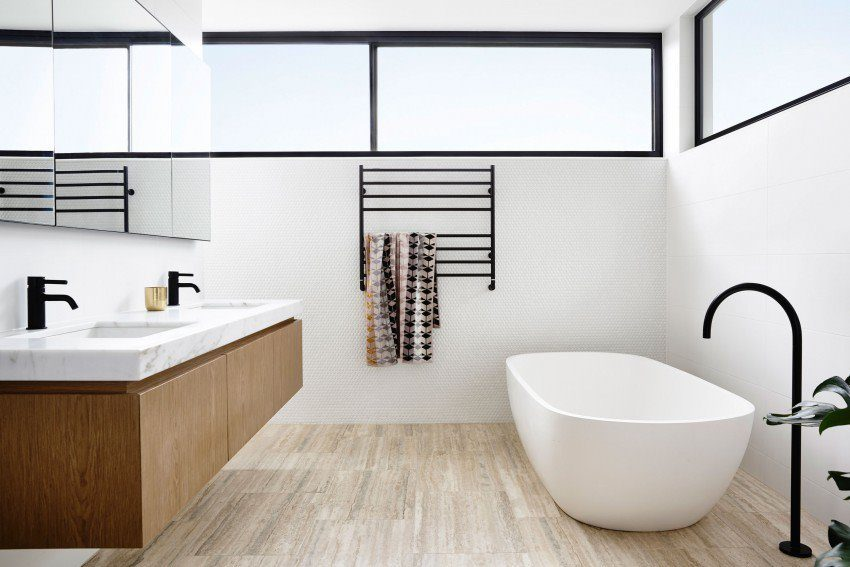 Description: modern residence 11 4 Nhà phố với thiết kế Minimalist với phòng tập Yoga tại Úc qpdesign