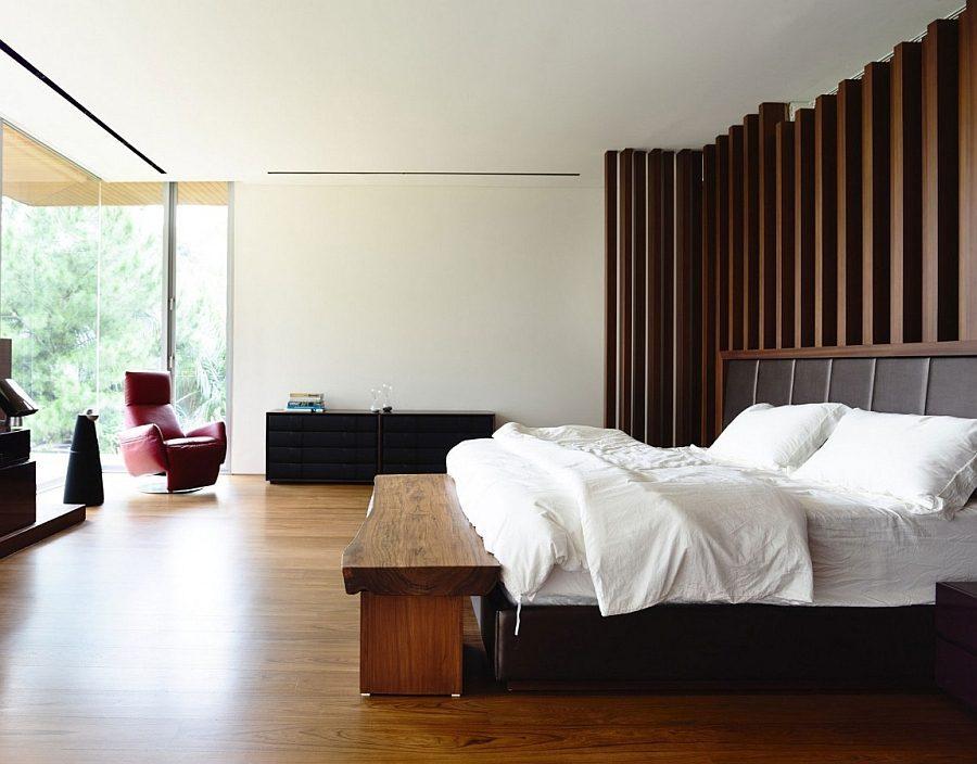 Description: A touch of natural charm in the contemporary bedroom Biệt thự tại Singapore với thiết kế không gian mở gần gũi với thiên nhiên qpdesign