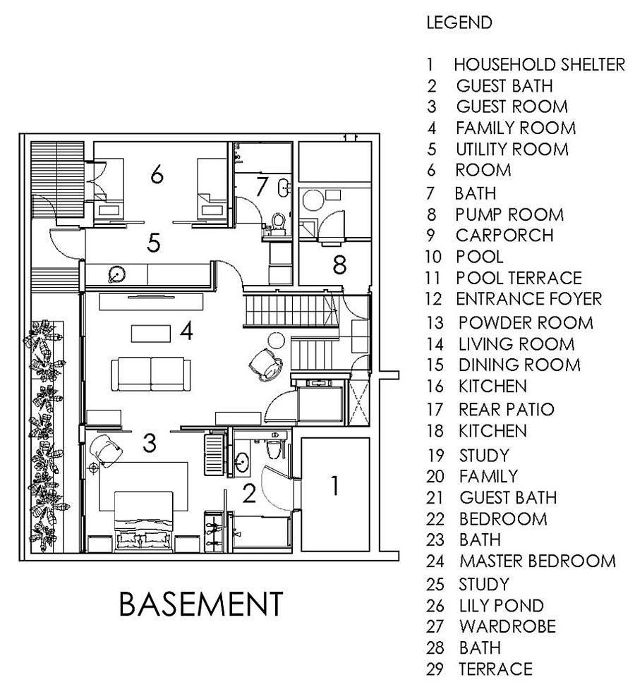 Description: 1337 Chiltern House   Nhà phố hiện đại với nhiều không gian xanh qpdesign