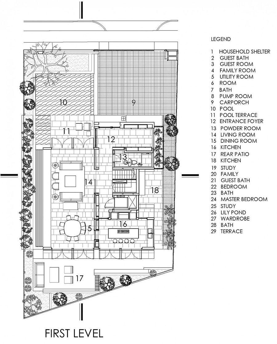 Description: 1432 Chiltern House   Nhà phố hiện đại với nhiều không gian xanh qpdesign