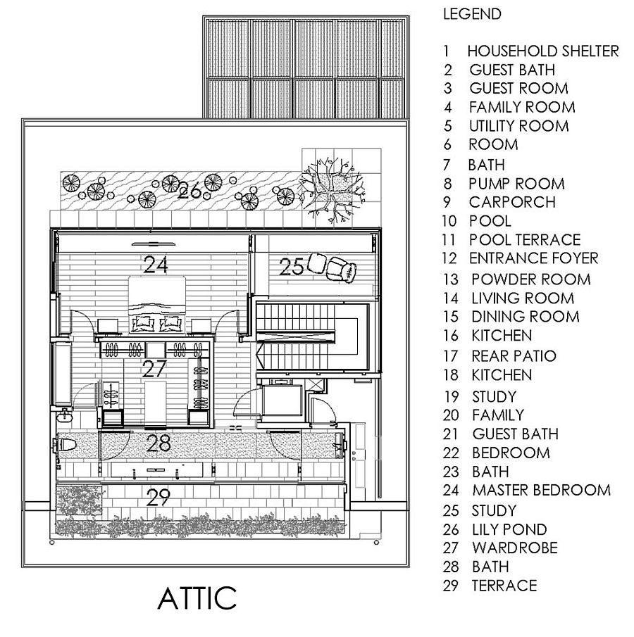Description: 1623 Chiltern House   Nhà phố hiện đại với nhiều không gian xanh qpdesign
