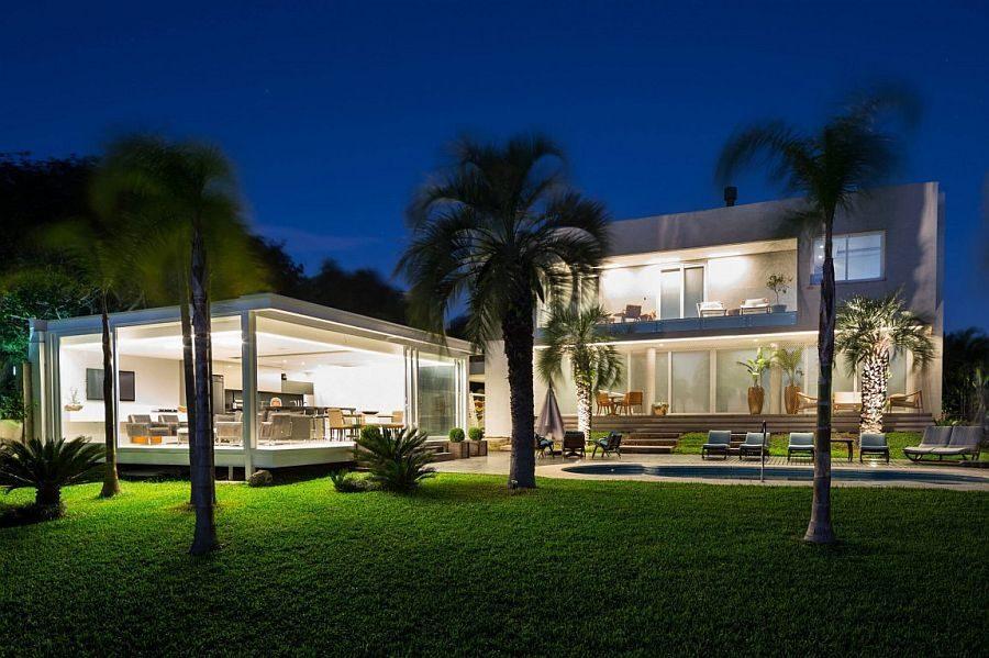 Description: 19 Biệt thự hiện đại với phong cảnh bờ hồ tuyệt đẹp tại Brazil qpdesign