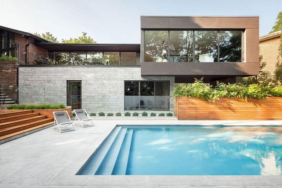 Description: 228 Ngôi nhà một tầng được mở rộng thành biệt thự hồ bơi sang trọng qpdesign