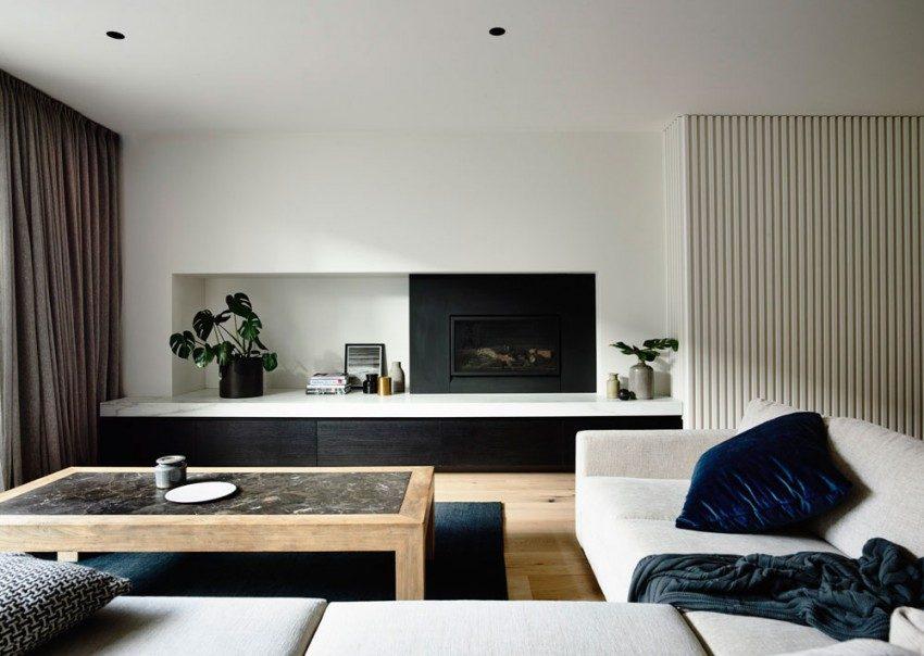Description: modern residence 2 Nhà phố với thiết kế Minimalist với phòng tập Yoga tại Úc qpdesign