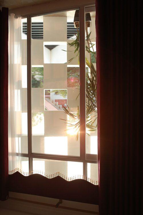 Description: 5 1462417284 1200x0 Nhà phố hướng tây với mặt tiền tổ ong chống nắng tại Vĩnh Phúc qpdesign