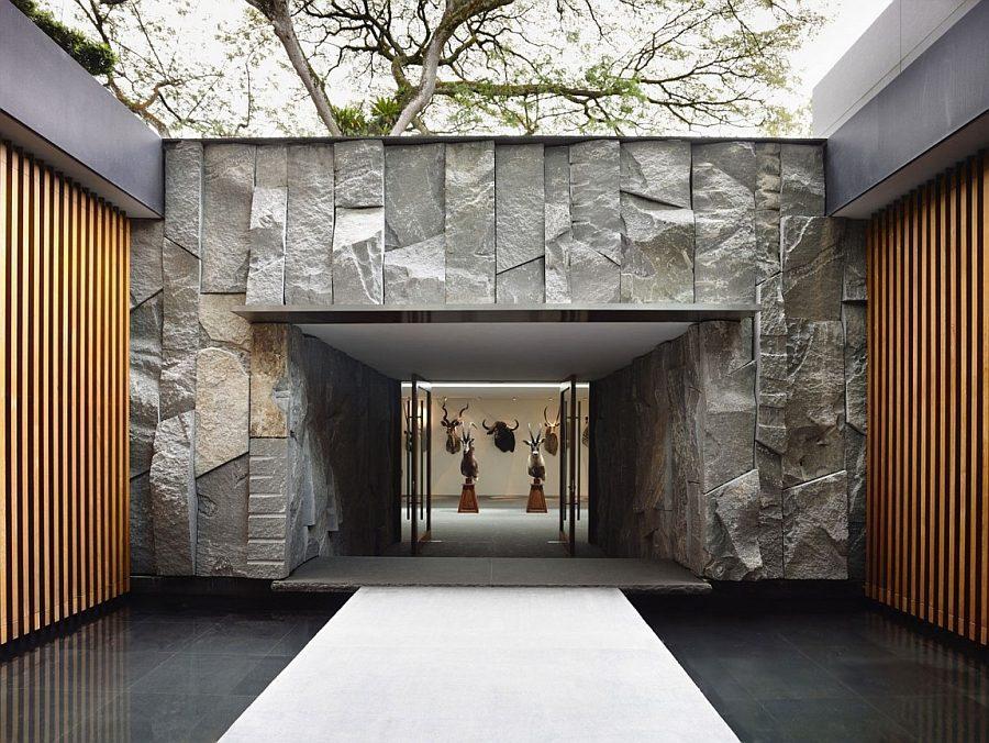 Description: Curated collection steals the show at this brilliant house Biệt thự tại Singapore với thiết kế không gian mở gần gũi với thiên nhiên qpdesign