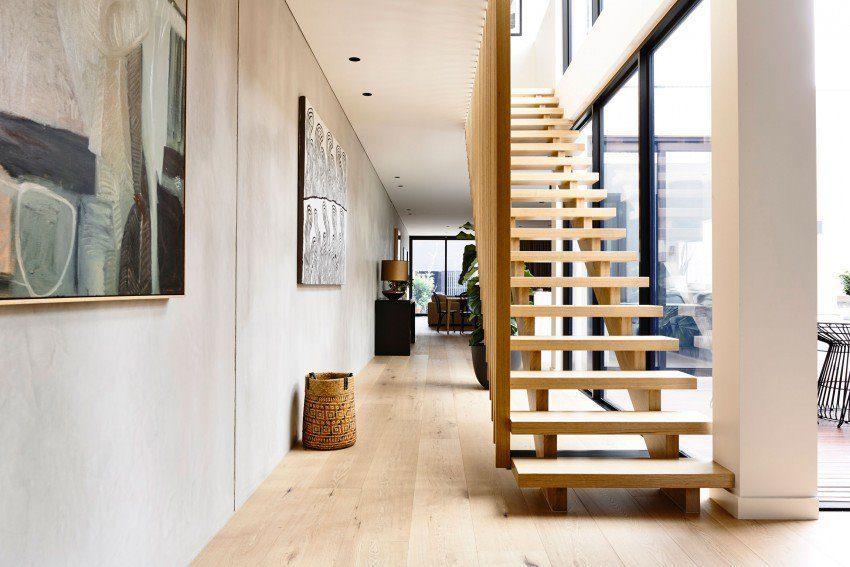Description: architecture modern residence 2 Nhà phố với thiết kế Minimalist với phòng tập Yoga tại Úc qpdesign