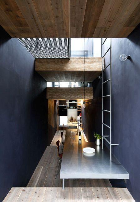 Description: Toshima long and narrow house dining area 1439462000 1200x0 Thiết kế thông minh cho nhà ống hẹp 1.8m qpdesign