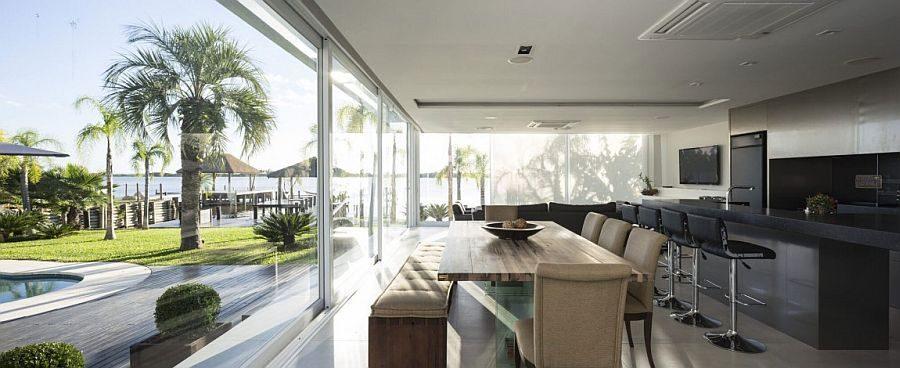 Description: 91 Biệt thự hiện đại với phong cảnh bờ hồ tuyệt đẹp tại Brazil qpdesign