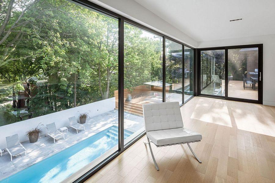 Description: 926 Ngôi nhà một tầng được mở rộng thành biệt thự hồ bơi sang trọng qpdesign